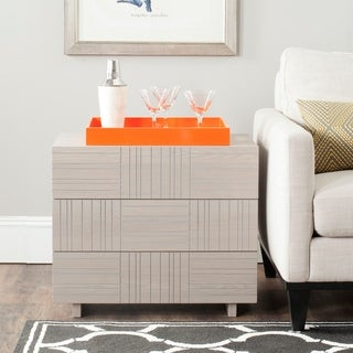 Safavieh Mitch Grey Cabinet