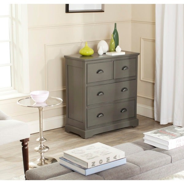 Safavieh Prudence Grey Storage Chest Of Drawers