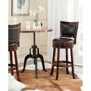 Safavieh Lazzaro Sierra Brown/ Brown Seat 29-inch Bar Stool