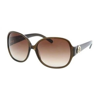 Tory Burch Women's 'TY 7026' Olive / Brown Gradient Fashion Sunglasses