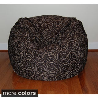 36-inch Wide Loop Washable Bean Bag Chair