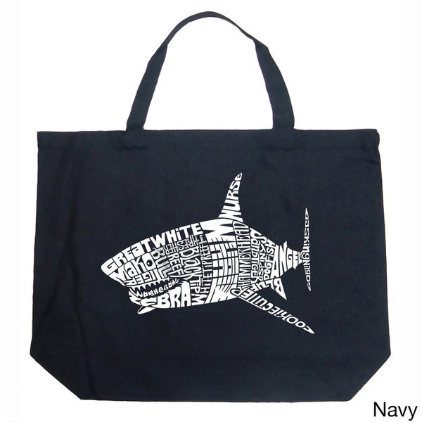 Shark Names Shopping Tote Bag