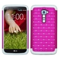 BasAcc Luxurious Lattice Dazzling TotalDefense Case for LG VS980 G2