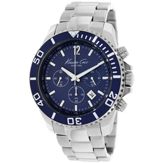 Kenneth Cole Men's KC9251 New York Classic Blue Chronograph Watch