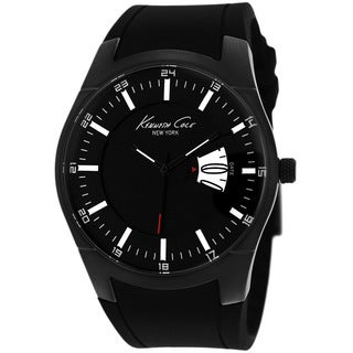 Kenneth Cole Men's KC1989 New York Gunmetal Round Watch