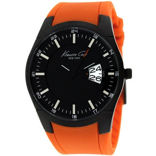 Kenneth Cole Men's KC1990 New York Orange Watch