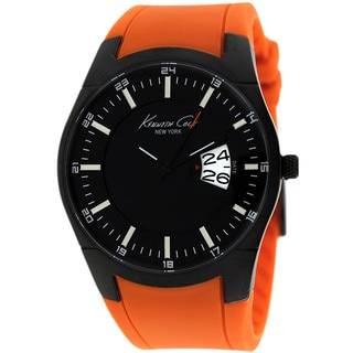 Kenneth Cole Men's KC1990 New York Orange Watch