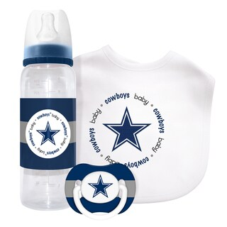 NFL Dallas Cowboys 3-piece Baby Gift Set