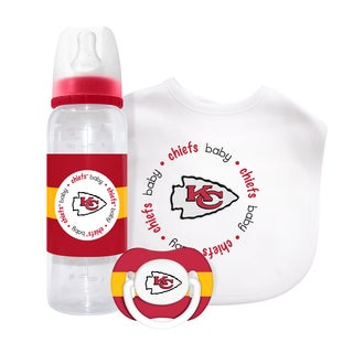 NFL Kansas City Chiefs 3-piece Baby Gift Set