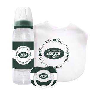 NFL New York Jets 3-piece Baby Gift Set