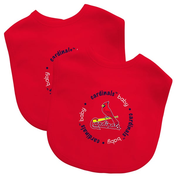 MLB St. Louis Cardinals 2-pack Baby Bib Set