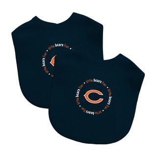 NFL Chicago Bears 2-pack Baby Bib Set