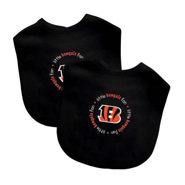 NFL Cincinnati Bengals 2-pack Baby Bib Set 12806131