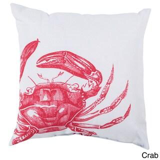 Red Catch Indoor/Outdoor Decorative Throw Pillow