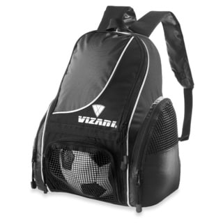 Vizari Sport Solano Soccer Backpack Black