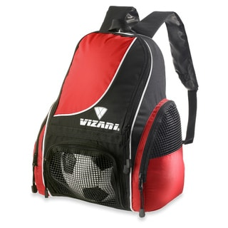 Vizari Sport Solano Soccer Red Backpack