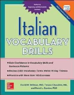 Italian Vocabulary Drills (Paperback)