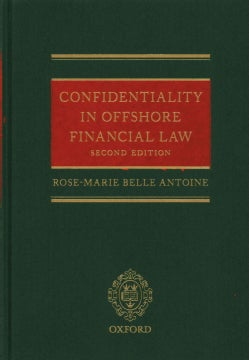 Confidentiality in Offshore Financial Law (Hardcover)
