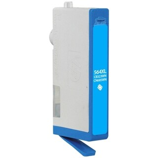 V7 Ink Cartridge - Replacement for HP (CB323WN) - Cyan
