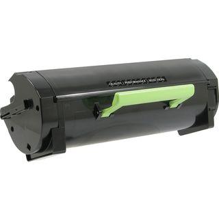 V7 Toner Cartridge - Alternative for Lexmark (50F0XA0, 50F1X00) - Bla