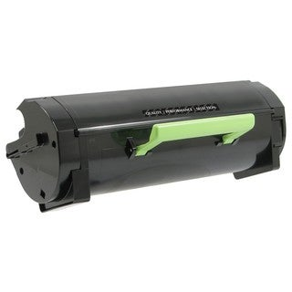 V7 Toner Cartridge - Replacement for Lexmark (50F0HA0, 50F1H00) - Bla