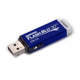 Kanguru FlashBlu30 with Physical Write Protect Switch
