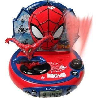 Lexibook Ultimate Spider-Man Projector Alarm Clock