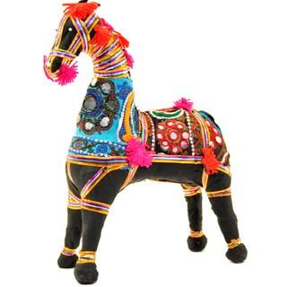 Handmade Horse Ornament (India)