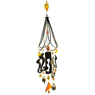 Handmade Design on A Wire Wind Chime (India)