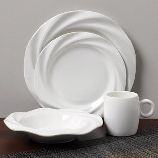 Carmona Twirl 16-piece Dinnerware Set