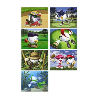 "Bob Commander ""Be the Ball"" Giclee Print 7-piece Set"
