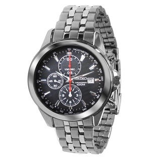 Seiko Men's Chronograph Stainless Steel Watch