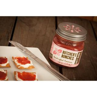 Butcher's Bunches Raspberry Vanilla and Cherry Passion Fruit Preserves (Set of 2)