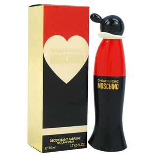 Moschino 'Cheap and Chic' Women's 1.7-ounce Deodorant Parfume Spray