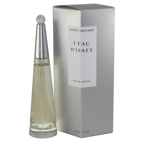 Issey Miyake Leau DIssey Women's 2.5-ounce Eau de Parfum Spray (Refillable)