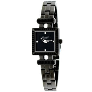 Kenneth Cole Women's Black Square Dial Watch