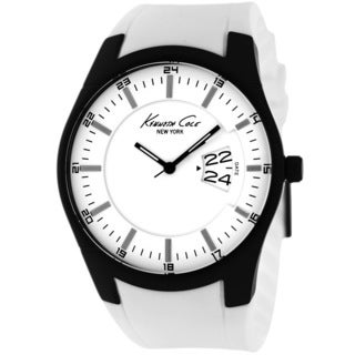 Kenneth Cole Men's KC1992 Classic White Silicone Watch