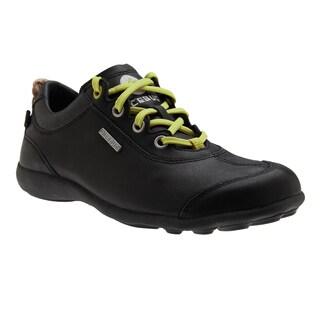 IceBug Unisex 'Estilo' Black Leather Athletic Shoes