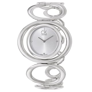 Calvin Klein Women's 'Graceful' Stainless Steel Swiss Quartz Watch