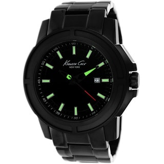 Kenneth Cole Men's KC9248 New York Black Stainless Steel Watch