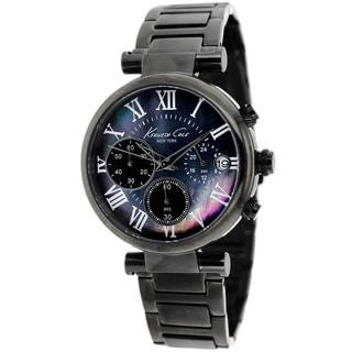 Kenneth Cole Women's Gunmetal Chronograph Watch