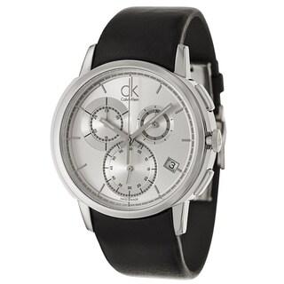 Calvin Klein Men's K1V27820 'Drive' Stainless Steel Chronograph Watch