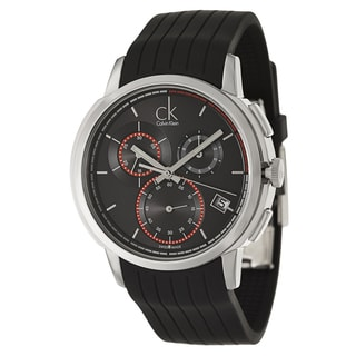 Calvin Klein Men's 'Drive' Black Chronograph Watch