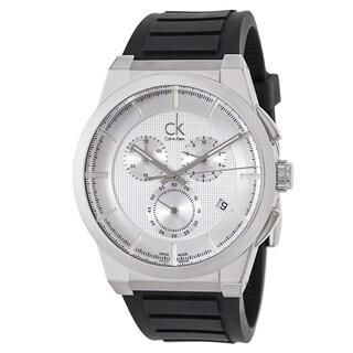 Calvin Klein Men's 'Dart' Black Swiss Quartz Watch