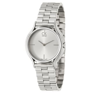 Calvin Klein Women's 'Skirt' Stainless Steel Swiss Quartz Watch