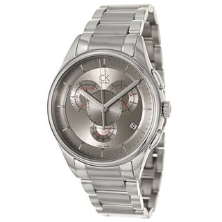 Calvin Klein Men's 'Basic' Stainless Steel Chronograph Watch