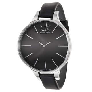 Calvin Klein Women's 'Glow' Stainless Steel Swiss Quartz Watch