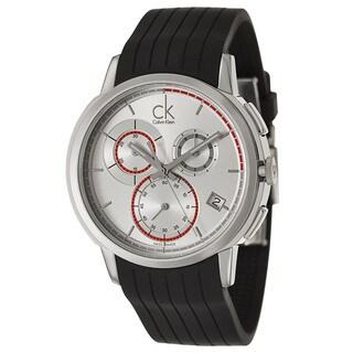 Calvin Klein Men's 'Drive' Stainless Steel Chronograph Watch