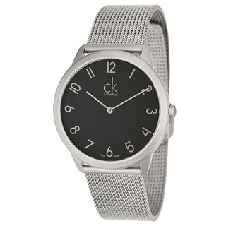 Calvin Klein Men's 'Minimal' Stainless Steel Swiss Quartz Watch