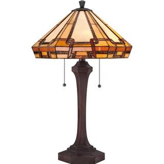 Tiffany Burton with Russet Finish Table Lamp